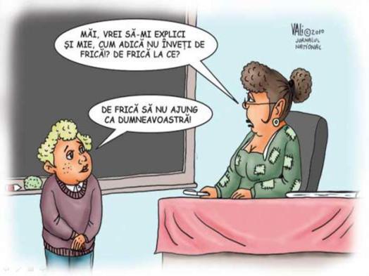 Elev și profesoară